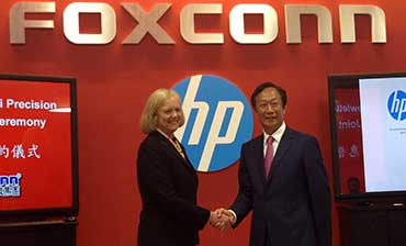 Meg Whitman, HP, Foxconn