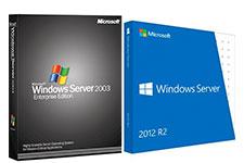 Windows Server 2003, Windows Server 2012