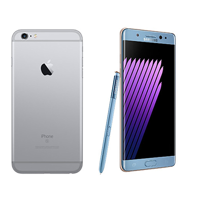 Smartphone Wars The Galaxy Note7 Was Supposed To Be Samsungs Pre Emptive Strike Against Apples New Releases Particularly IPhone 7 Plus