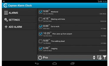 The Daily App, CaynaxAlarmClock