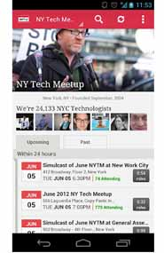 The Daily App, Meetup