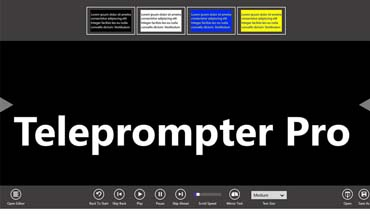 The Daily App, Teleprompter Pro