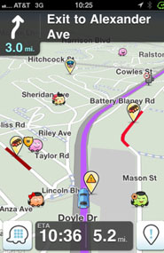 Waze for iPhone, Android