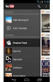 The Daily App, YouTube app