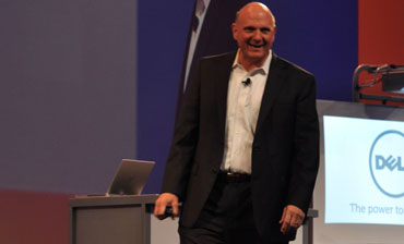 Steve Ballmer at Dell World