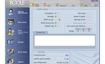 Boole Control Panel