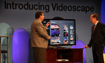 Cisco's John Chambers Gives A Videoscape Demo At CES 2011