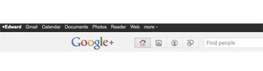 Google Plus Screen Shot