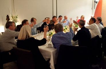 Apple's Steve Jobs joins President Barack Obama and other tech leaders for dinner on Feb. 17, 2011 in California