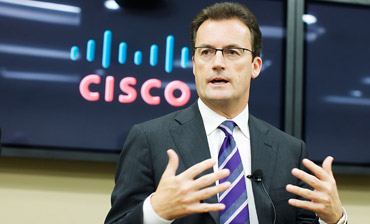 Cisco's Rob Lloyd, executive vice president