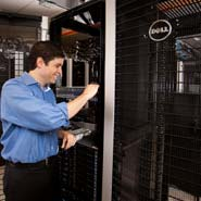Dell's Travis Vigil Inspects EQL PS6100