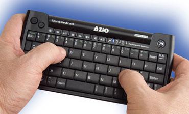 Azio Mini thumb keyboard