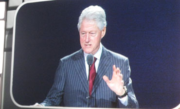 Bill Clinton CES 2013