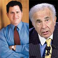 Michael Dell, Carl Icahn