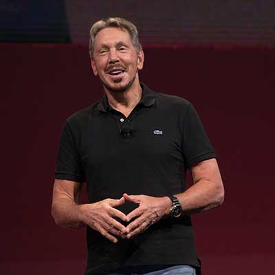 Oracle's Ellison targets Amazon with new database technology