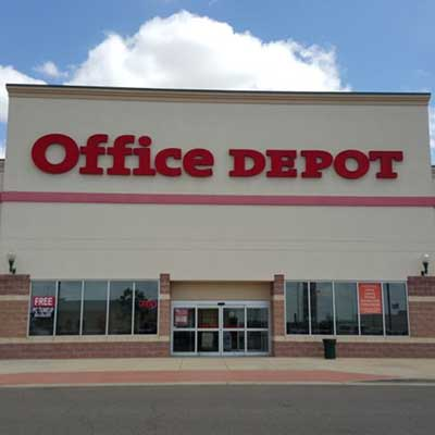 Office Depot plunges as tech deal fails to soothe investors