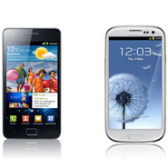Samsung Galaxy SII Vs. Galaxy SIII