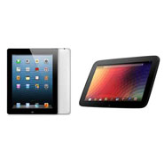 New Apple iPad Vs. Google's Nexus 10
