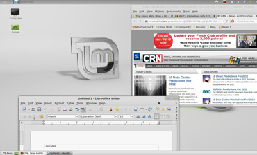 Linux Mint 12, the latest Linux desktop