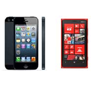 Nokia Lumia 920 Vs. Apple iPhone 5