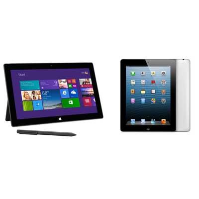 iPad vs Surface Pro 2